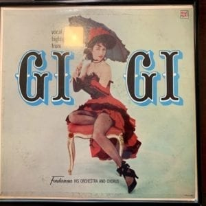 Vintage Vinyl Record Vocal Highlights From Gigi - Fontanna His Orchestra And Chorus