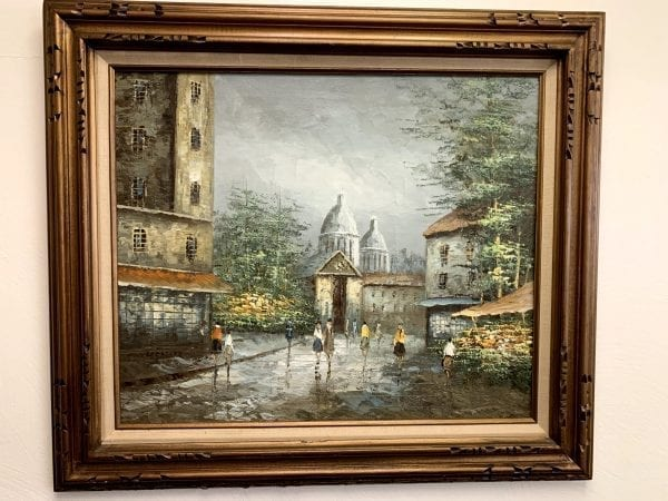 Vintage Margaret Kressley Painting From The 1920's